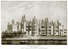 richmond palace england | Richmond Palace, Surrey. Illustration from A Short History of the ... Richmond Palace, English People, History Images, Ursula, Surrey, Tudor, Digital Image, Book Series, England