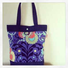 Tote bag for my knitting stuff
