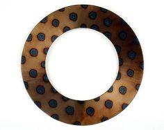 Leopard Spot Round Mirror