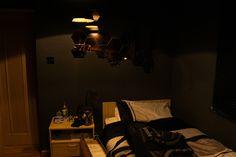 > Kid creates his own Deus EX: Human Revolution themed room - Photo posted in BX GameSpot Deus Ex Human, How To Get Sleep, Black Mirror, Room Themes, Room Inspiration, Furniture, Revolution, Design, Home Decor