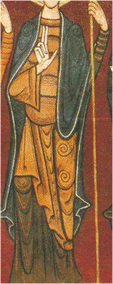 Brial. XII. Monasterio de S. Serni de Tavernoles, la Seu d'Urgell, Lérida. Museo Nacional de Arte de Cataluña, Barcelona (detalle)