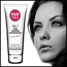 HairFree removes hair and prevents regrowth. It is the first of a new generation of hair removal creams which dissolves surface hair and shrinks the root to stop hair growing. Wipe-on-wipe-off and in 30 days and start to achieve smooth hair-free skin on your face, legs, underarms, bikini line.