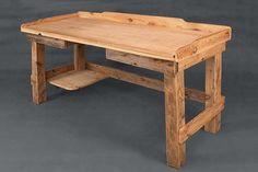 biurko inga, biurka z drewna, meble industrialne, meble do loftu