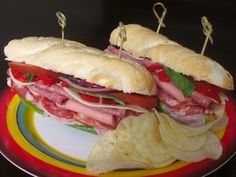 Top Secret Recipes | Dive! Sicilian Sub Rosa Copycat Recipe. This looks so yummy!