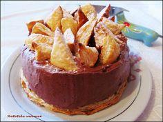 Tort cu cremă de ciocolată Pudding, Desserts, Food, Tailgate Desserts, Deserts, Custard Pudding, Essen, Puddings, Postres