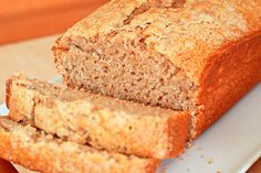 Lemon Drop: Applesauce Cinnamon Quick Bread