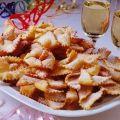 Lajos Mari konyhája - Csörögefánk Hungarian Desserts, Hungarian Cake, Hungarian Recipes, Hungarian Food, Edible Flowers, Macaroni And Cheese, Waffles, Dessert Recipes, Sweets