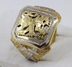 Pánský pečetní prsten LEV   Zastavárna a Bazar Zlín - U radnice