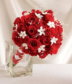 red-white-bouquet        LOVE IT