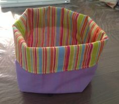 Visit the post for more. Fabric Basket Tutorial, Creation Couture, Couture Bags, Blog Couture, Couture Sewing, Tub Chair, Sewing Tutorials, Sewing Ideas, Fabric Crafts