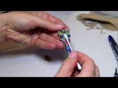 sutasz - soutache - bransoletka. Pelny tutorial - YouTube