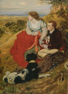 Ford Madox Brown (British, 1821-1893). Byron's Dream