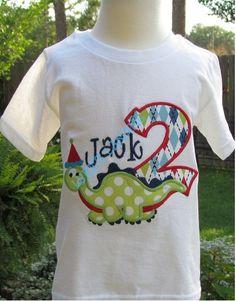 Applique ideas for Palmer's shirts.