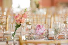 simple but gorgeous flowers, Historic Toronto wedding // photo by Blue Colibri via 100 Layer Cake