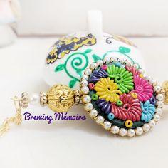 Polymer Clay Jewelry, Crochet Earrings, Instagram