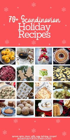 Scandinavian Holiday Recipes ~ Cook your way to a nordic christmas with thes. - Scandinavian Holiday Recipes ~ Cook your way to a nordic christmas with these holiday recipes f - Scandinavian Holidays, Scandinavian Food, Scandinavian Christmas, Christmas Morning, Norwegian Christmas, Danish Christmas, Vegan Recipes Easy, Cooking Recipes, Kitchen Recipes
