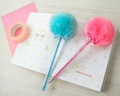 Puffy pens.