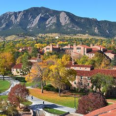 University of Colorado, Boulder | 41 Scenic College Campuses That Were Made For Instagram