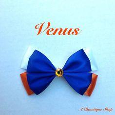 venus  hair bow by abowtiqueshop on Etsy