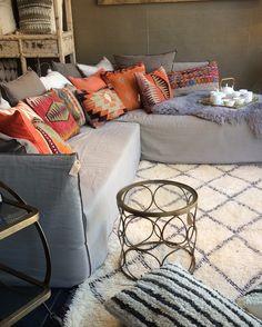 Ghost 20 and 21 Gervasoni,vintage kilim cushions