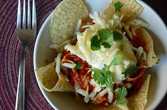 Chicken Chilaquiles!   rochellerella