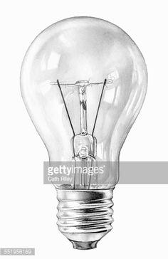 Pencil Drawing Ideas Close up pencil drawing of filament light bulb - Close up pencil drawing of three filament light bulbs Realistic Drawings, Cute Drawings, Drawing Sketches, Pencil Drawings, Sketching, Light Bulb Drawing, Light Bulb Art, Pencil Shading, Pencil Art