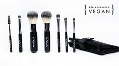Au Naturale Travel Brush Set  PETA Approved Vegan ** Check out the image by visiting the link.