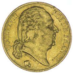 20 Francs 1819 A Frankreich Ludwig XVIII. 1814 - 1824