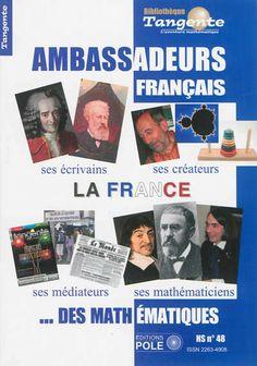 Les grands mathématiciens français : Descartes, Pierre de Fermat, Blaise Pascal, D'Alembert, Henri Poincaré, Nicolas Bourbaki...Les vulgaris...
