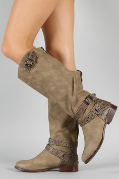 Dollhouse Ride Buckle Riding Knee High Boot....Great Site for Cheap boots...most only $40 or below!