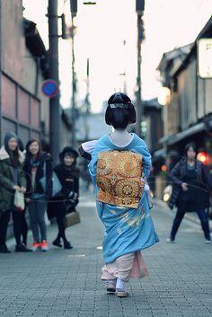 Geiko Ayano of Gion Kobu by Dan Chui on Flickr