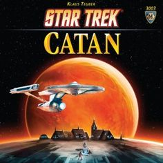 Mayfair Games Star Trek Catan Board Game in Board Games. New Star Trek, Star Wars, Star Trek Tos, Settlers Of Catan, The Settlers, Star Trek Board Game, Star Trek Gifts, Catan Board Game, Fun Board Games