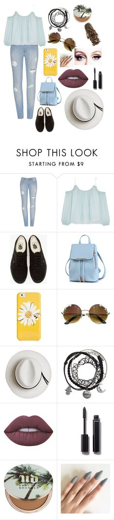 """""""❤️"""" by whysorude on Polyvore featuring mode, Elizabeth and James, Vans, Kate Spade, Calypso Private Label, Lime Crime, Chanel et Urban Decay"""