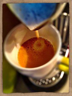 Guten Morgen…einen munteren Samstag wünsche ich Euch mit einem #Arpeggio #Kaffee von @Nespresso