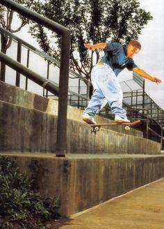 Daewon Song doing a backside tailslide!!!  Classic!!!  I absolutely LOVE skateboarding!!!!