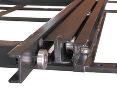 CargoGlide Truck Bed Cargo Slide Frame Close Up