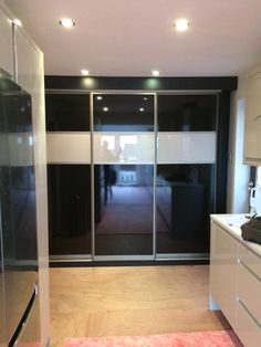Sliding doors available in a range of colours and panel sizes. We manufacture sliding doors to your specification and to fit your space. Just send us your measurements for a quotation. www.msbedrooms.co.uk