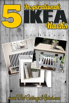 5 More Incredible IKEA HACKS