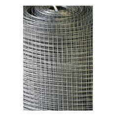 Grillage soudé galvanisé - Maille Carrée 20 x 20 mm - Longueur 10 m - 1 mètre