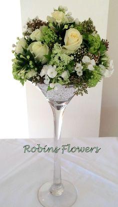 Martini Vase for Weddings