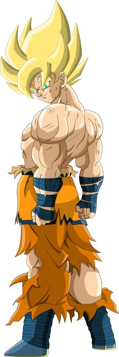 Super Saiyan Goku (Frieza Saga)  MLL Redesign by OWC478
