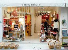 quatre saisons Zakka shop  ... パリの四季を感じる小粋な雑貨屋さん quatresaisons キャトルセゾン    asahi-net.or.jp