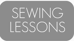 Lots of information and tips on sewing