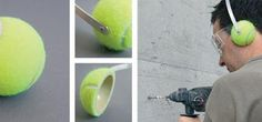 . . . . . How to Recycle: Repurposed Tennis Balls