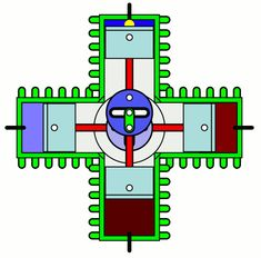 Basic components of a twostroke engine Electronic