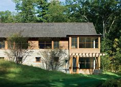 Connors House, Westwood, Mass. - Design, Landscaping, Residential Projects, Architecture, Outdoor Rooms, Living Room, Retaining Walls, Stone, Landscape Architecture, Landscape Architects - Custom Home Magazine