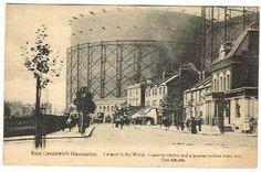 EAST GREENWICH GASOMETER C.1910