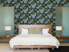 HGTV HOME Sherwin-Williams Wallpaper: Coastal Cool #wallpaper #hgtvhome