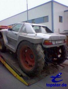Mercedes-Traktor