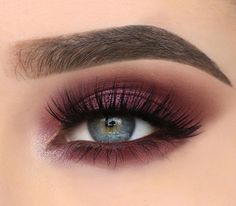 Smokey eye makeup look by xwiesx - #eyeshadow #makeup #cosmetics #lashes #beauty